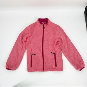 REI GIRL'S PUFFER JACKET PINK SIZE M